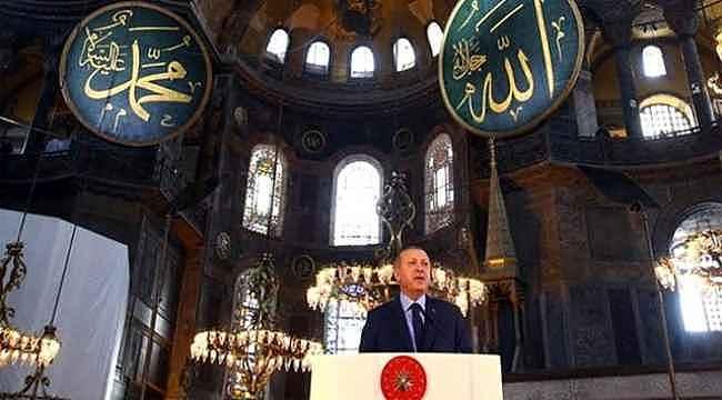 Ayasofya kararının ardından Cumhurbaşkanı Erdoğan, bu akşam konuşma yapacak