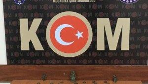 Aydın'da 71 adet sikke ele geçirildi