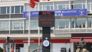 Aydın'da sıcak hava etkili olmaya devam ediyor