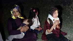 Aynı aileden 7 kişinin yaralandığı kazada, çocukların feryatları yürekleri dağladı