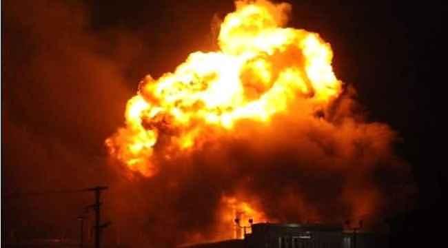 Bağdat'ta askeri üsse roketli saldırı