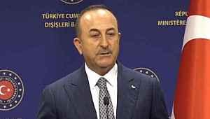 Bakan Çavuşoğlu, 'AB pek hoşlanmıyor ama' dedi ve ekledi,