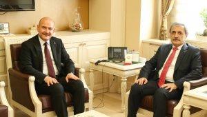 Bakan Soylu'dan Yargıtay Cumhuriyet Başsavcısı Şahin'e ziyaret
