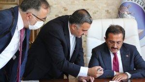 Bakan Yardımcısı Aksu'dan Develi Belediyesi'ne ziyaret