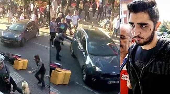 Bakırköy'de vatandaşların üzerine aracını süren şahıs hakkında istenen ceza belli oldu