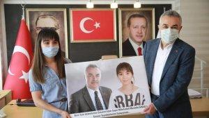 Balkan ailesinden, Milletvekili Savaş'a 'Ambulans Uçak' teşekkürü