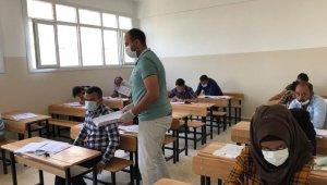 Barış Pınarında 240 öğrenci üniversite için yarıştı