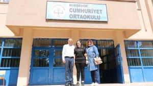 Başarı Kırşehir'de devlet okulu öğrencilerinden geldi