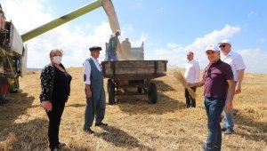 """Başkan Akgün: """"Kıymetli tarım ürünlerini üretmeye devam edeceğiz"""""""