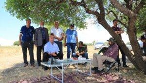 Başkan Akman, batık tekneyi arama çalışmalarını inceledi