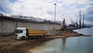 Başkan Büyükakın, Diliskelesi sahil projesini inceledi