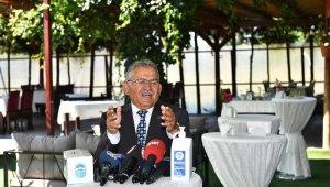 Başkan Büyükkılıç hijyen sertifika törenine katıldı