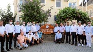 Başkan Gürün Fethiye'de incelemelerde bulundu