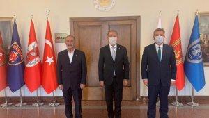 Başkan Palancıoğlu, Bakan Akar'ı ziyaret etti