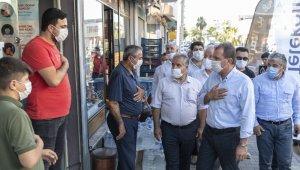 Başkan Seçer, Kurdali Mahallesinde vatandaşlarla buluştu