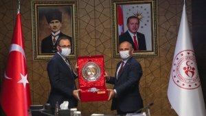 Başkan Söğüt, Bakan Kasapoğlu ile görüştü