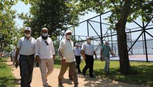 Başkan Söğüt, Güney Mahallesi'ndeki eksikleri yerinde gördü