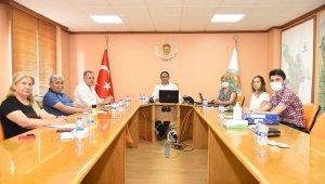 Başkan Yılmaz, yeni encümen üyeleriyle ilk toplantısını yaptı