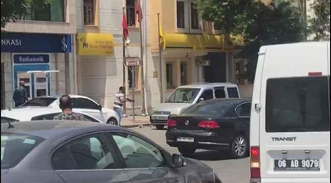 Başkent'te sıcak saatler... İki grup arasında silahlı kavga