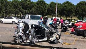 Bayram trafiğinde yaşanan kazada 1 kadın öldü, 4 kişi yaralandı - Bursa Haberleri