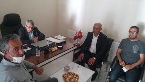 Belediye Başkanı Altın'dan MHP'li Başkan Öğreten'e ziyaret