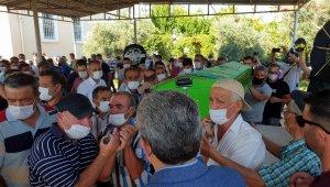 Belediye çalışanı Nazillili genç toprağa verildi