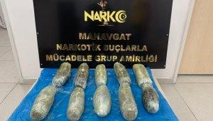 Benzin deposu içinde poşetlere sarılı 6 bin 800 gram uyuşturucu ele geçirildi