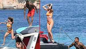 Beşiktaşlı futbolcudan karısına deniz şakası