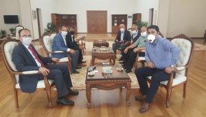 Bilecik Erzurumlular Derneğinden Rektör Beydemir'e ziyaret
