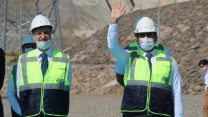 Bingöl'de Yukarı ve Aşağı Kaleköy barajları törenle açıldı