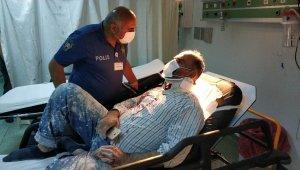 Boyacı, meslektaşının tuğlalı saldırısı ile hastanelik oldu