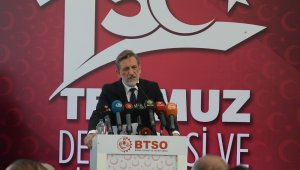 BTSO Yönetim Kurulu Başkanı Burkay'dan 15 Temmuz mesajı - Bursa Haberleri