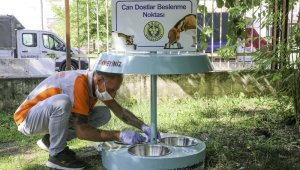 """Buca'da bir kap su kampanyasına """"otomatik"""" destek"""