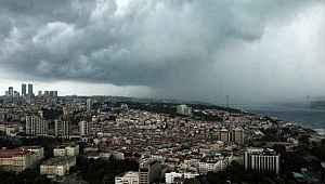 Bugün aralıklarla gök gürültülü sağanak yağış bekleniyor