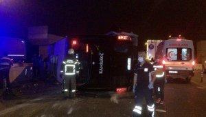 Bursa çevre yolunda feci kaza 16 yaralı 1 ölü - Bursa Haberleri