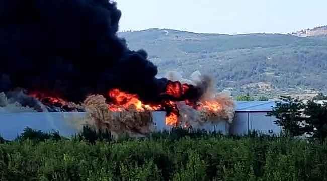 Bursa'da ikinci büyük yangın - Bursa Haberleri