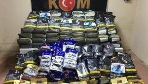 Bursa'da 186 kilo bandrolsüz tütün ele geçirildi - Bursa Haberleri
