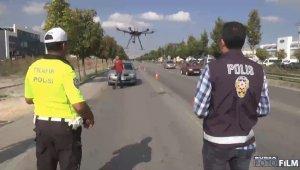 Bursa'da bayram öncesi havadan trafik denetimi - Bursa Haberleri