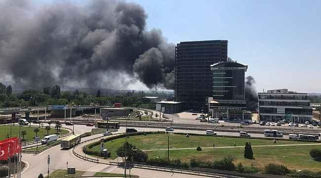 Bursa'da büyük yangın - Bursa Haberleri