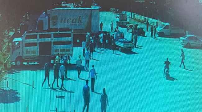 Bursa'da feci kaza güvenlik kamerasına yansıdı - Bursa Haberleri
