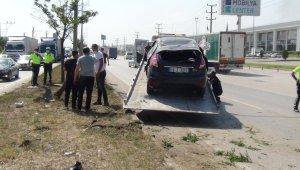 Bursa'da kaza: 3 yaralı - Bursa Haberleri