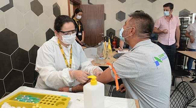 Bursa'da sanayi üretim tesislerinde antikor testleri devam ediyor - Bursa Haberleri