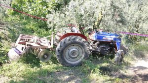 Bursa'da traktör kazası: 1 ölü - Bursa Haberleri