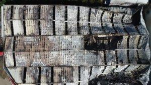 Bursa'daki yangın dehşetinden geriye kalan enkaz havadan görüntülendi - Bursa Haberleri