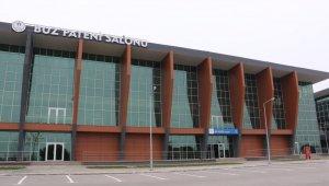 Buz Sporları Salonu'na nem alma sistemi