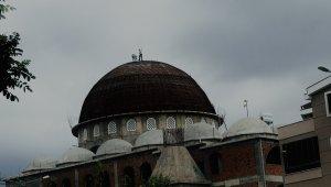 Cami kubbesinde ölümüne tamir