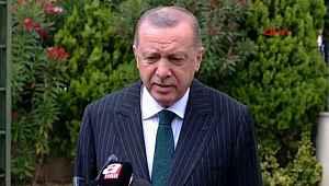 Cumhurbaşkanı Erdoğan 'Ayasofya' açıklaması,