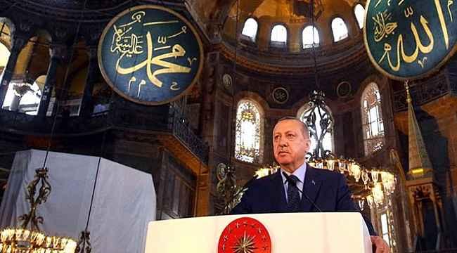 Cumhurbaşkanı Erdoğan, Ayasofya'nın ibadete açılacağı ve ilk namazın kılınacağı tarihi açıkladı