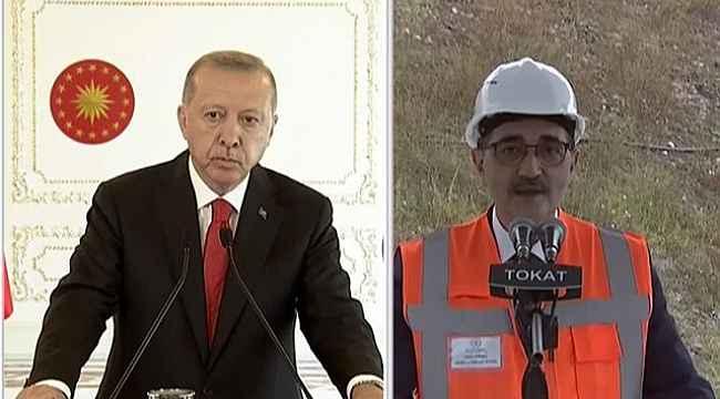 Cumhurbaşkanı Erdoğan'dan canlı yayında Bakan Dönmez'e