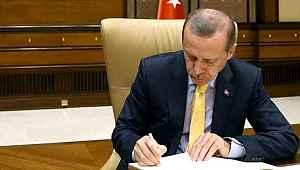 Cumhurbaşkanı Erdoğan'ın imzasıyla 10 farklı kuruma kritik görevlendirme